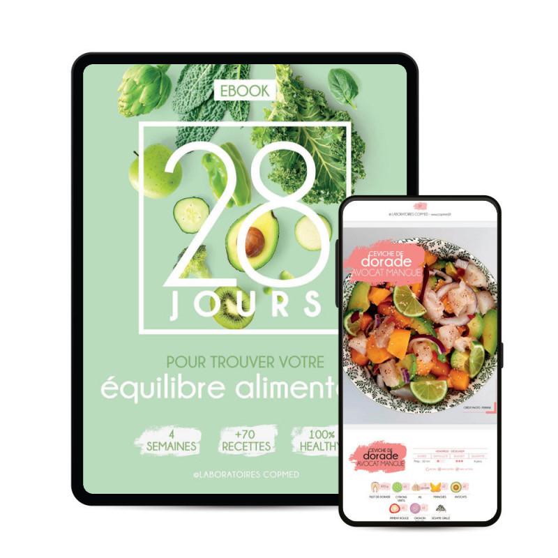 EBOOK : 28 jours pour trouver votre équilibre alimentaire