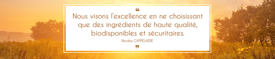 Citation de Nicolas CAPPELAERE