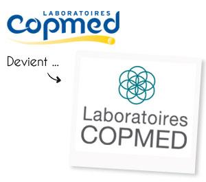 Une évolution du logo COPMED