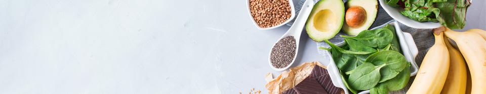 magnésium dans les aliments